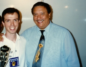 Playing with Arturo Sandoval @ The Maceio Jazz Festival - Brazil 1995