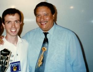 Playing with Arturo Sandoval @ The Maceio Jazz Festival - Brazil 1995